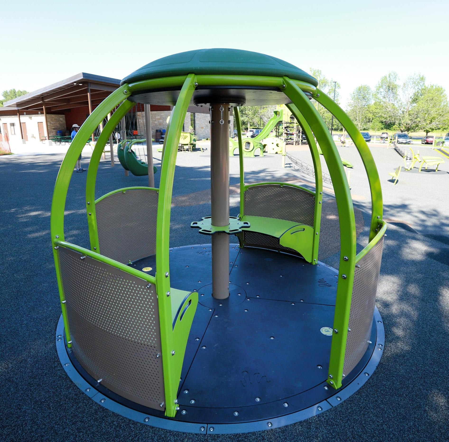 The Grove Playground Merry-go-Round